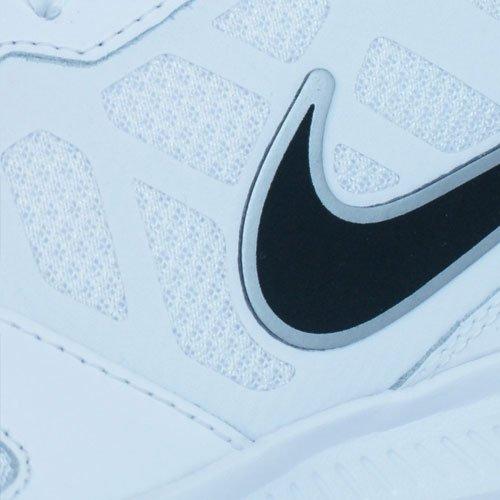 Nike Downshifter 6 Scarpe da ginnastica, Uomo WHITE/BLACK-METALLIC SILVER