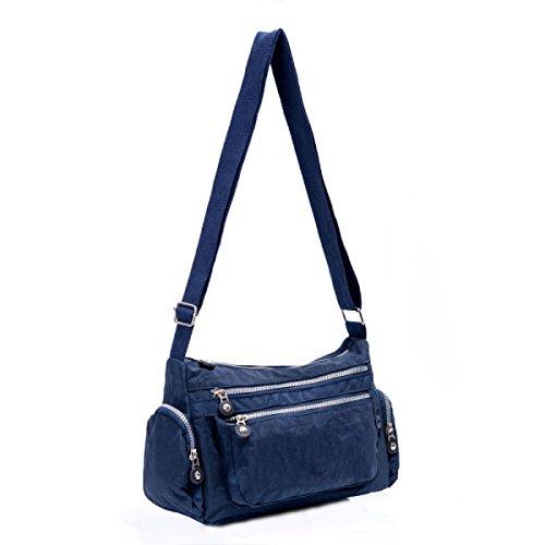 Ms. Messenger Bag Femminile BUKUANG Oxford Di Nylon Piccola Borsa Borsa Mamma Di Mezza Età Borsa Da Viaggio Di Tela,P B