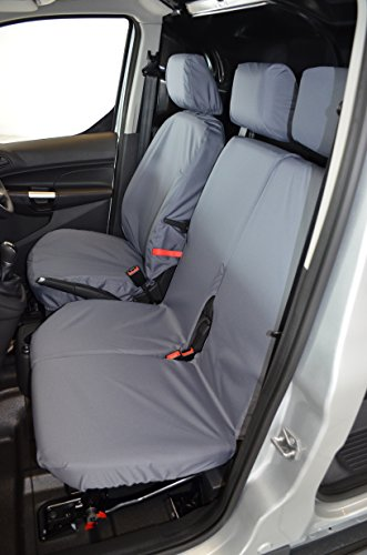 Turtle Covers FOCO14FTZZGY Tailored Waterproof Washable Front Seat Covers [Grey]
