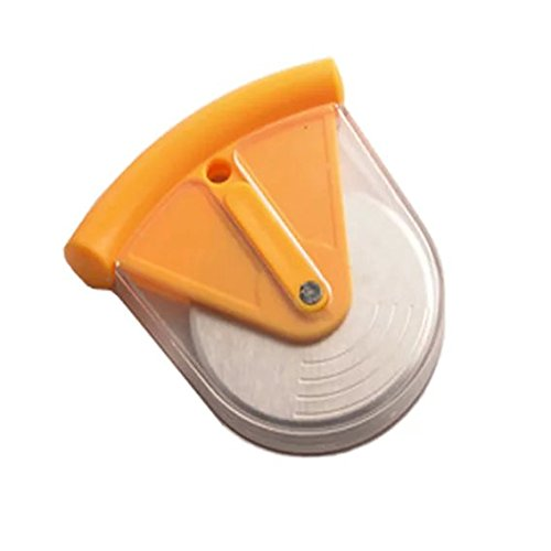 Trenta Küche Good Grips Pizza Rad und Cutter mit Polypropylen-Cover orange Küche Pizza Cutter