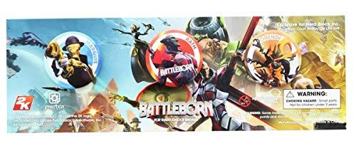Unbekannt Battleborn Collectible Button Pin 3-Pack