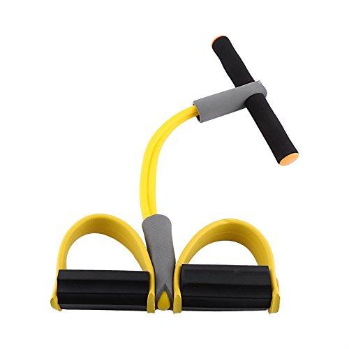 Wangc Stretch Widerstand Band Pull Seil Expander Fuß Pedal-Trainingsgerät