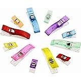 Candora ™ 100piezas Wonder clips clip clips de colores vibrantes accesorio ideal como de costura de costura Quilt herramientas Patchwork, Quilting grandes (25+ 75más pequeños)
