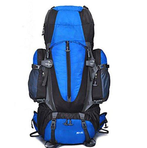 Wandern Und Rucksack Camping Und Wandern Klettern Regenschutz Staubdicht Multifunktions-Funktion,Green Blue1