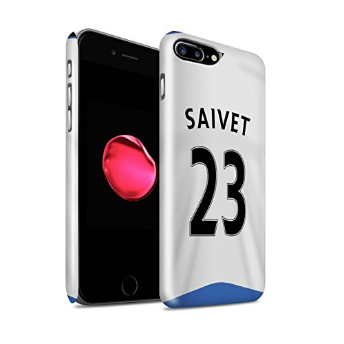 Offiziell Newcastle United FC Hülle / Glanz Snap-On Case für Apple iPhone 7 Plus / Anita Muster / NUFC Trikot Home 15/16 Kollektion Saivet