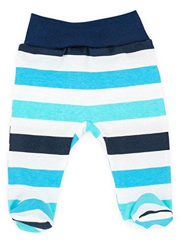 Baby-Mode Jungen Hose mit Fuß -Kollektion Classic 08116- (56)