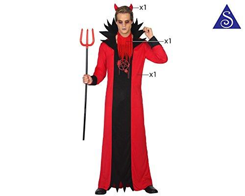 ATOSA 34806 - Teufel, Kostüm, Größe M-L