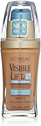 LOreal Visible Lift Serum Absolute Advanced Age-Reversing Makeup, Sun Beige 1 oz (Pack of 2)