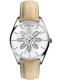 s.Oliver Damen-Armbanduhr SO-3236-LQ