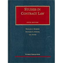 Studies in Contract Law, Fifth Edition (AK-Sg) by Ian Ayres (1997-05-23)