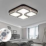 MYHOO 64W Dimmbar LED Deckenleuchte Deckenlampe Modern Panel Leuchte für Korridor Esszimmer Wohnzimmer mit Fernbedienung [Energieklasse A++]