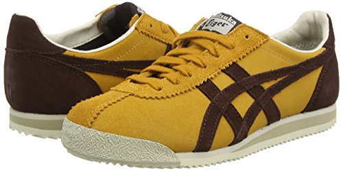 Onitsuka Tiger - Tiger Corsair, Sneaker basse Unisex – Adulto Marrone (Tan/Dark Brown 7162)