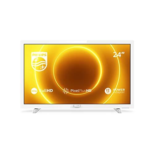 Oferta de Philips 24PFS5535/12 Televisor de 24 pulgadas (60 cm) TV LED (Full HD, Pixel Plus HD, entrada de 12 V, HMDI, VGA, USB), color blanco (modelo 2020/2021)