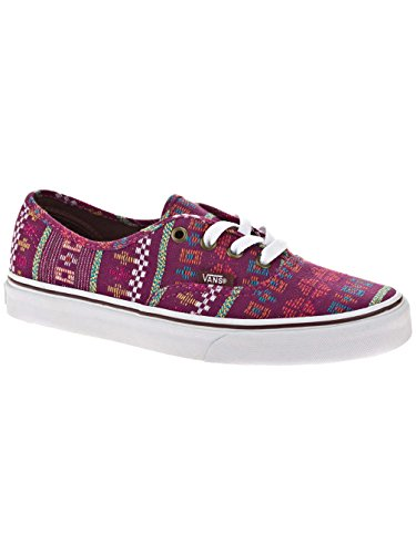Vans Unisex – Adulto Authentic Vans Authentic in vernice Galaxy Nero Bianco vivo 39 Viola (viola)