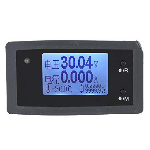 Cosiki Misuratore di monitoraggio della Batteria Solare, DTU-15020D DC 0~150V Voltmetro 0~20A Ampere Meter per Batteria So