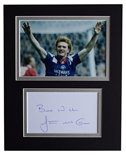 Sportagraphs-Stuart-McCall-Signed-Autograph-10×8-photo-display-Rangers-Football-AFTAL-COA-PERFECT-GIFT