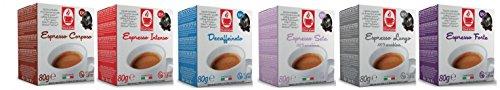 CAFISSIMO (Tchibo) PROBIERSET - Kaffee - 60 Stück Kompatible Kaffeekapseln von Caffè Bonini Italien.