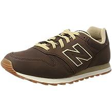 new balance 373 piel marron