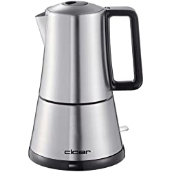 Cloer 5928, Acero inoxidable, 365 W, 230 MB/s, 145 x 170 x 230 mm, Acero inoxidable - Cafetera italiana