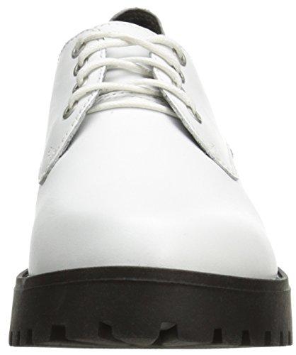 Steve Madden Dewwars Oxford White Leather