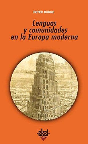 Lenguas y comunidades en la Europa moderna (Universitaria)