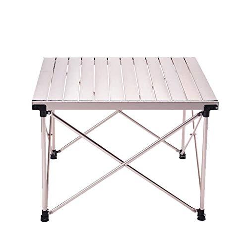Aluminium Klapptisch, Roll Up Ultraleicht Aluminium Tischplatte Mit Tragetasche Für Picknick Camping Wandern Reisen Angeln Strand - Aluminium Outdoor Patio Sofa