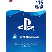 PlayStation PSN Card 15 GBP Wallet Top Up | PSN Download Code - UK account