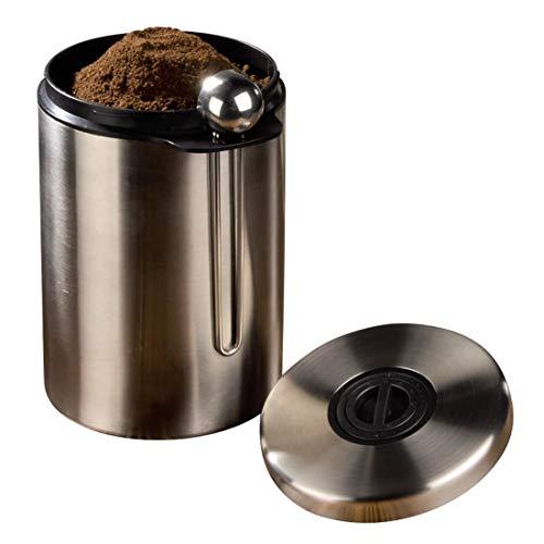 Xavax Kaffeedose mit passendem Kaffeelöffel (für 1kg Kaffeebohnen, Tee, Kakao, mit...