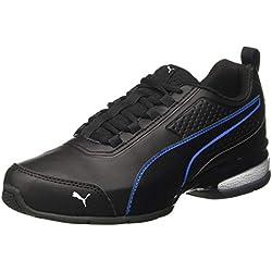 Puma Leader Vt SL, Chaussures de Running Compétition Mixte Adulte,Noir (Puma Black- Puma White - Indigo Bunting) , 42 EU ( 8 UK )