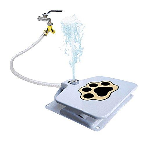 Cutepet Bebedero De Mascotas De Manera Pisada Garden Water Fountain Fuente Potable para Perros