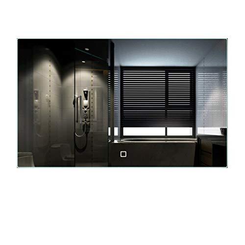 Badezimmerspiegel Beleuchten LED Anti-Fog Explosionsgeschützt Mit Berührungsschalter Anwendbares Schlafzimmer/Hotel/WC (Color : White Light, Size : 70x90cm) -