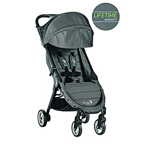 Baby Jogger City Tour Compact Fold Stroller Charcoal GSDZSY ❀ Material: High carbon steel + ABS + rubber wheel, suitable for children from 6 months to 6 years old, maximum load 30 kg ❀ Features: The push rod can adjust the height and control direction, the seat can rotate 360; the baby can lie flat, adjustable umbrella, suitable for different weather conditions ❀ Performance: high carbon steel frame, strong and strong bearing capacity; non-inflatable rubber wheel, suitable for all kinds of road conditions, good shock absorption, seat with breathable fabric, baby ride more comfortable 9