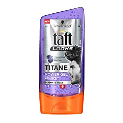 Schwarzkopf Taft Titan Look Power Hair Styling Gel Ultimate Hold 6