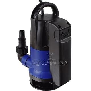 Agora-Tec® AT- Tauchpumpe dirty water 400 mit integrierten Schwimmerschalter und max: 0,5 bar und max: 8000l/h