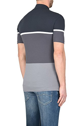 polo uomo Armani Jeans modello 3Y6F056J0TZ Grey