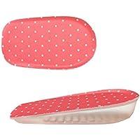 Höhe Erhöhung Schuhe Pad Elastische Silikon Ferse 1,5 cm größer, rosa preisvergleich bei billige-tabletten.eu