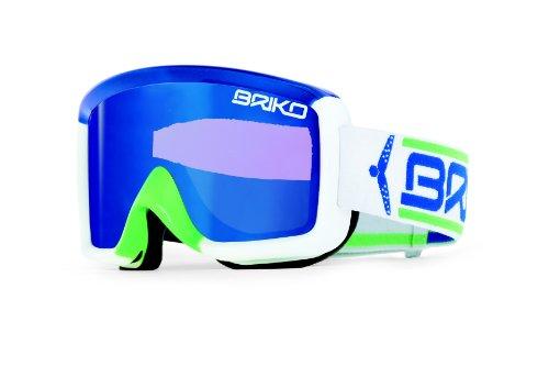 Briko Super Race SKIBRILLE, Royal/Lime/White