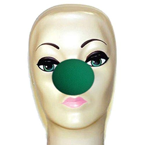 Machen Schaumstoff Kostüm (Magic by Gosh grün Schaumstoff Clown Nase)