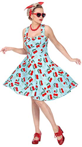 Rockabilly Kostüm Frauen - Karneval-Klamotten 50er Jahre Kostüm Damen Rockabilly-Kleid
