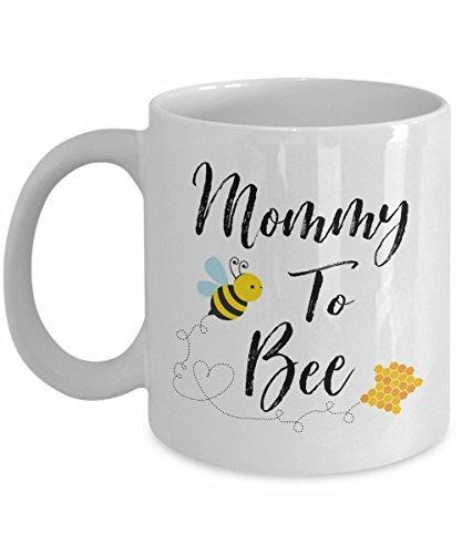Mommy to bee, bee tazza da caffè, tazza da caffè, sesso neutro, gravidanza annuncio, mommy to be, cute coffee mug, siamo in gravidanza, come regalo di natale