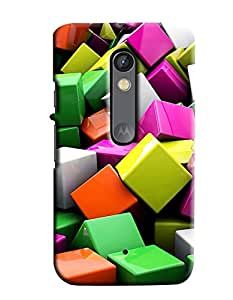 Expert Deal Best Quality 3D Printed Hard Designer Back Cover For Motorola Moto X Play