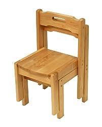 A+ ChildSupply Birch Stackable Chair 12