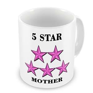 5 Star Mother Becher, Pink