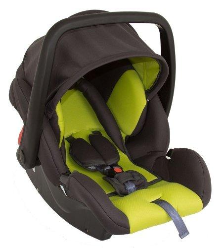 Babyschale Protect von UNITED-KIDS Gruppe 0+ 0-13 kg KN Grün-Grau