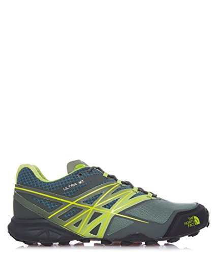 The North Face M Ultra Mt, Chaussures de Trail Homme Verde (Duckgrn/Limegrn)