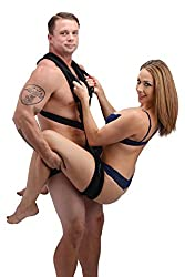 Frisky Black Stand & Deliver Sex Position Body Sling