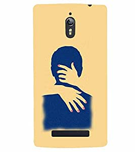 PrintVisa Hot & Sexy Couple 3D Hard Polycarbonate Designer Back Case Cover for Oppo Find 7