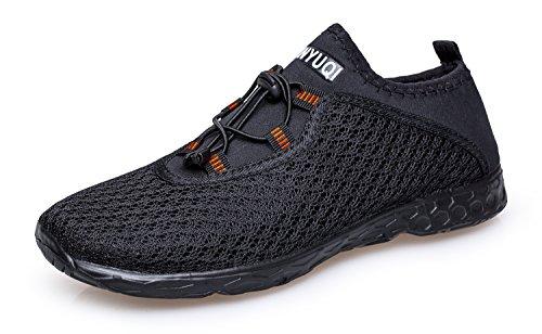 Vibdiv Herren Aquaschuhe Wasserschuhe Strandschuhe Schnelltrocknende Outdoor Schuhe