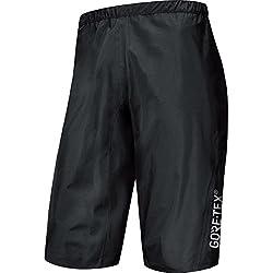 GORE BIKE WEAR Pantalón para Hombre, Corto, GORE-TEX Active, POWER TRAIL GT AS Shorts, Talla: S, Negro, TGSPOW990003