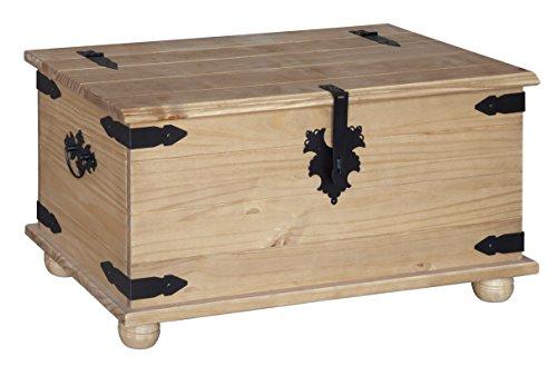 Mercers Furniture Corona Blanket Box – Pine